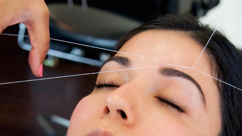 Удаление волос ниткой на лице отзывы