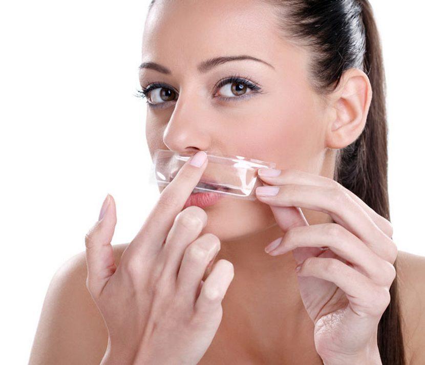 Полоски для удаления волос с лица