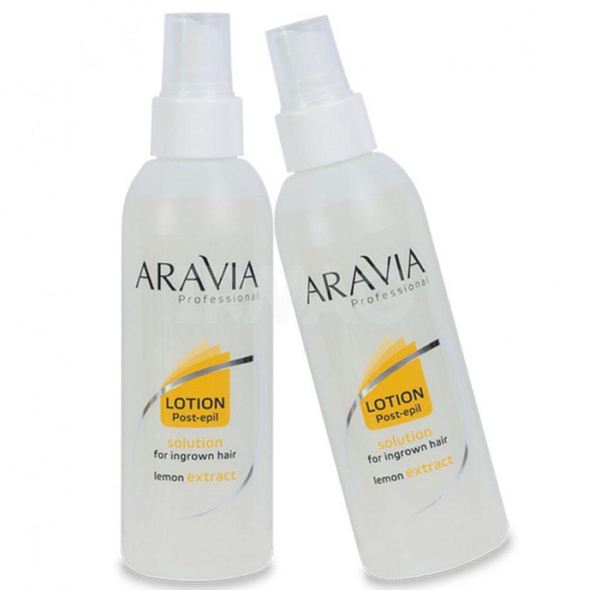 Аспирин против вросших волос