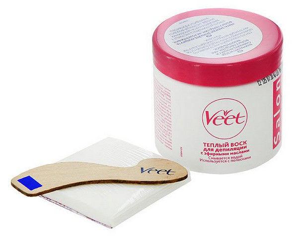 Следуйте одному проверенному правилу: чем тоньше слой воска Вит, тем больше волос можно будет удалить