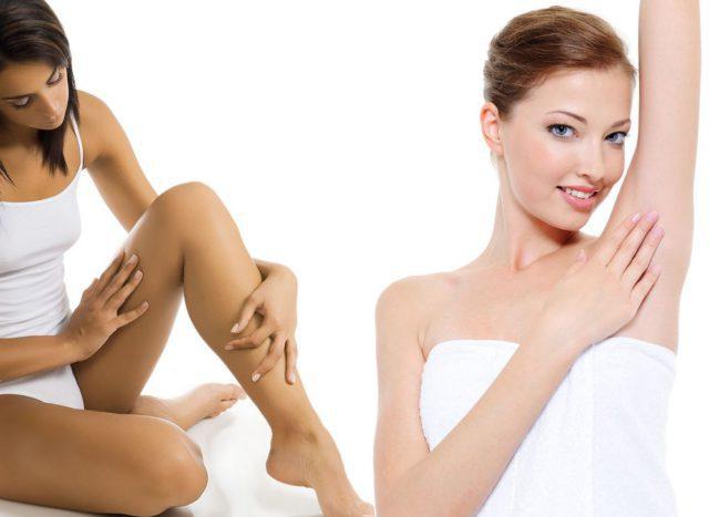 Возникновение микротравм на коже после шугаринга сведено к минимуму, но открытые поры и луковицы, из которых удалили волосинки, необходимо продезинфицировать и успокоить