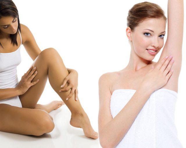Гладкость кожи сохраняется около трех недель, а иногда и целый месяц