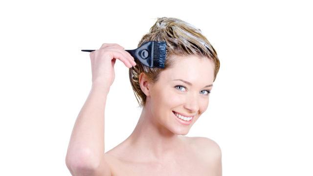 Быстрее всего осветлятся корни волос из-за выделяющегося из кожи головы тепла